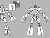 3rd robot_skull mech_ model sheet2_Joseph