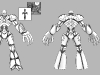 3rd robot_skull mech_ model sheet_Joseph